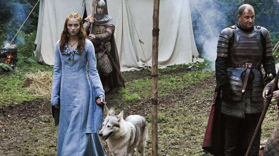 Animais maltratados em Game of Thrones