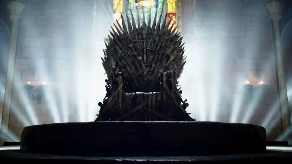 HBO-Iron-Throne, trono de aço