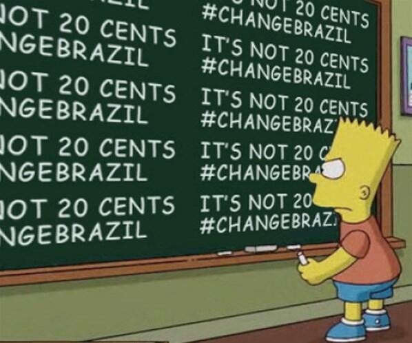 Simpsons vai retratar em um episódio os protestos realizados no Brasil - Hoax