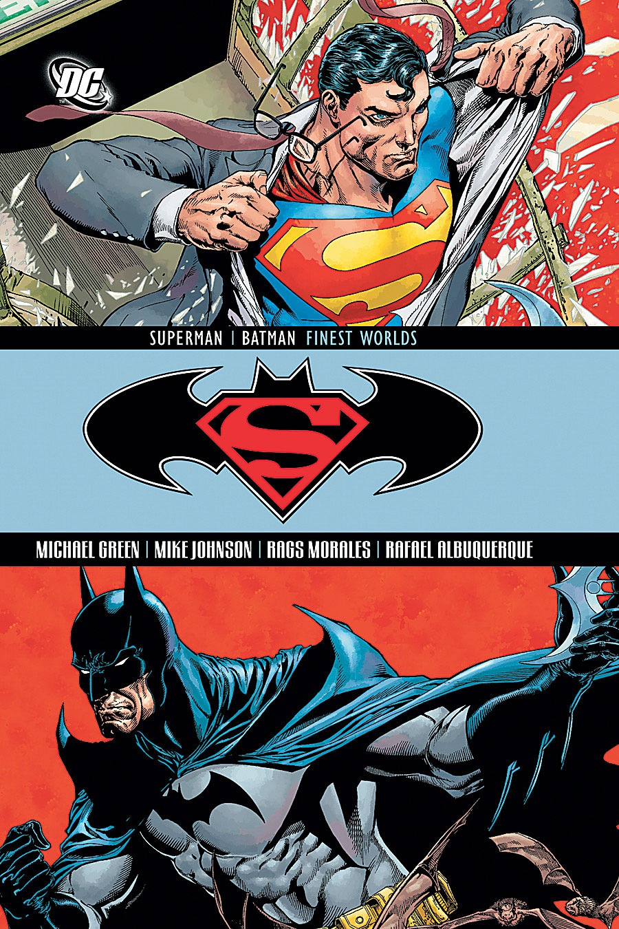 Superman Batman Finest Worlds