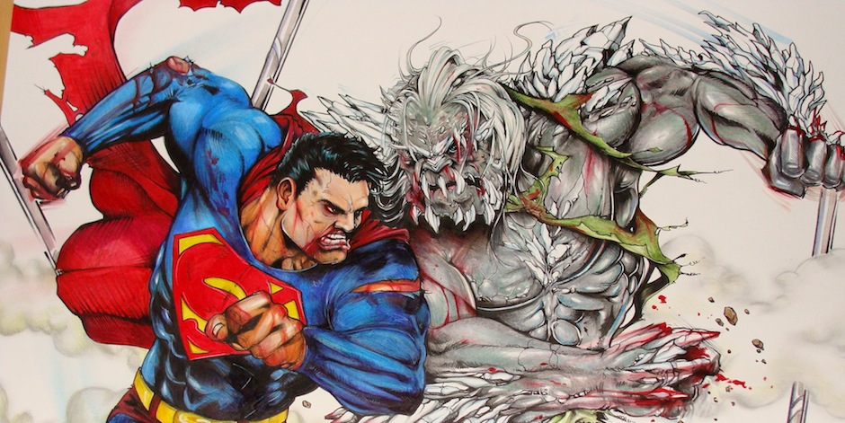 doomsday e superman