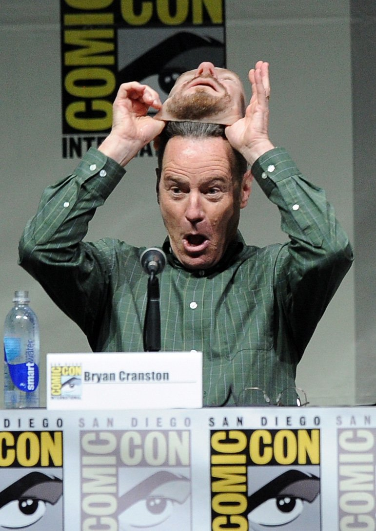 heisenberg comic con