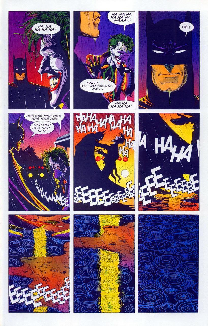 A Piada Mortal - Ultima página