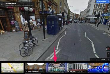 tardis no google maps