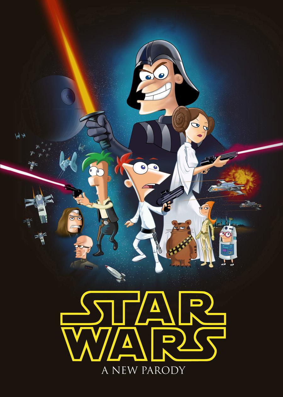 Phineas e Ferb em Star Wars