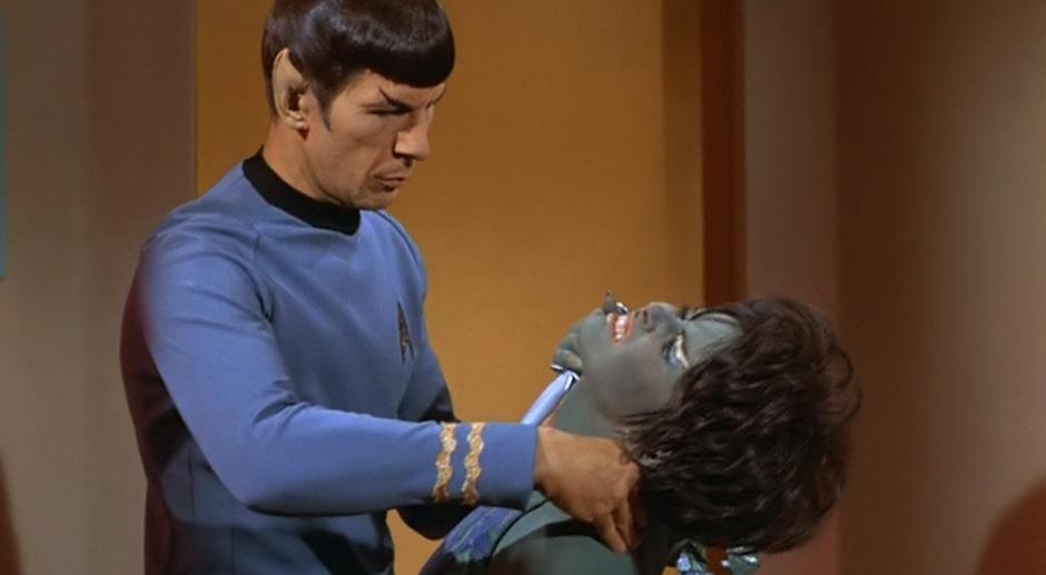 Spock Vulcan nerve pinch