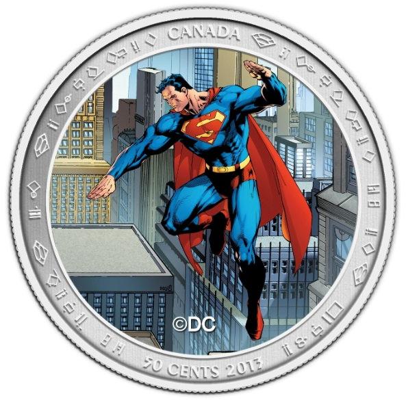 Moeda do Superman Canada 01