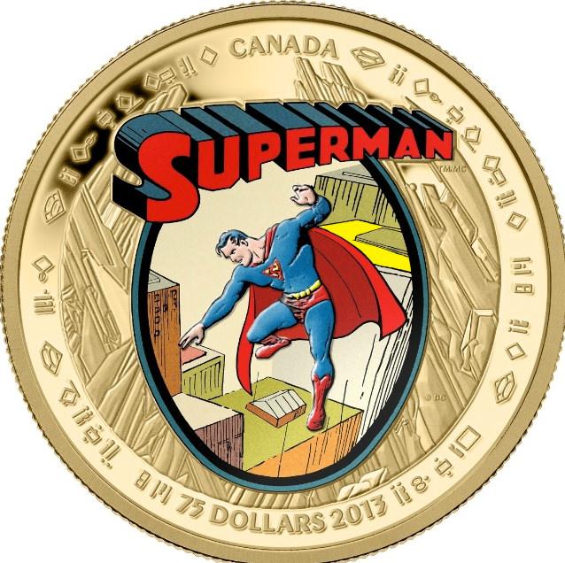 Moeda do Superman Canada 04
