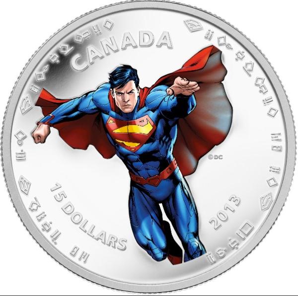 Moeda do Superman Canada 06