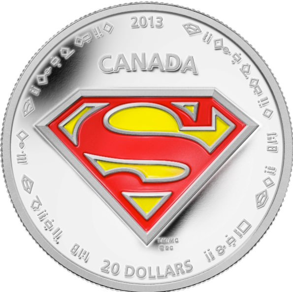 Moeda do Superman Canada 08