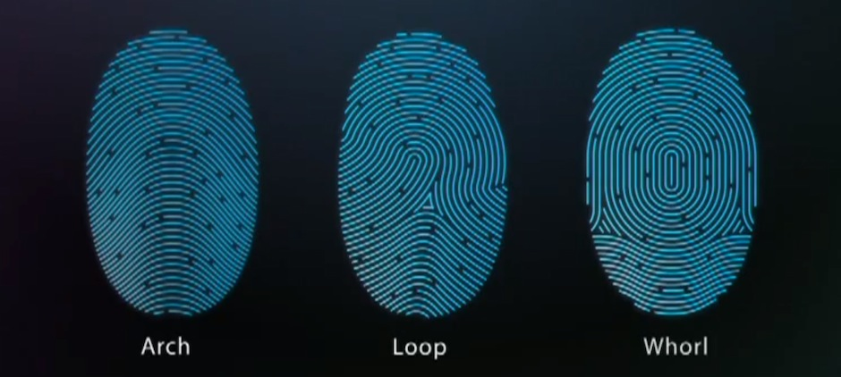 Touch-ID-Fingerprint-pattern-types