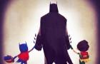 pais herois DC Comics a