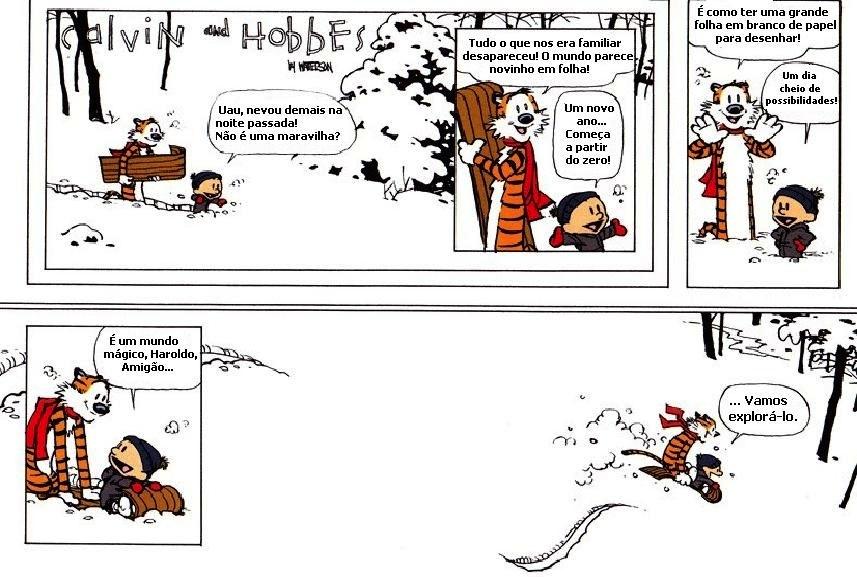 Bill Watterson fala sobre a animação de Calvin e Haroldo - a ultima tirinha do calvin e haroldo