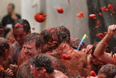 Guerra de tomate tomatina