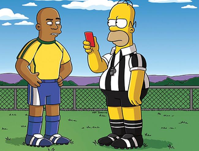 Homer Simpson Copa Brasil 2014