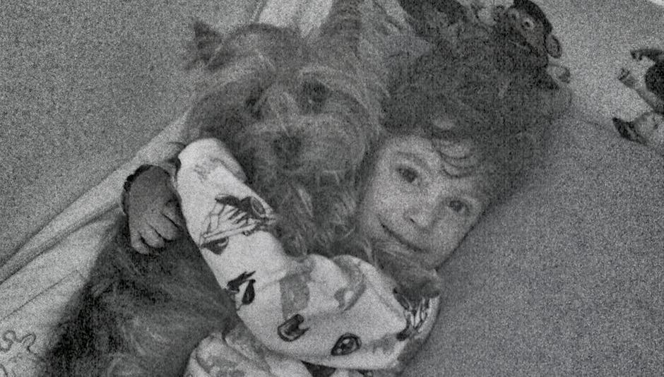 Padawan e a Nina dormindo