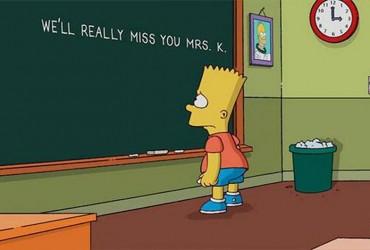 Bart-Simpson homenagem Marcia Wallace