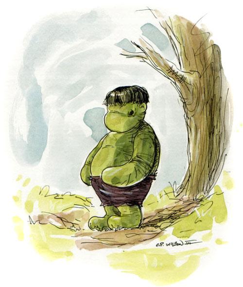 O Ursinho Pooh que virou O Ursinho Hulk 06