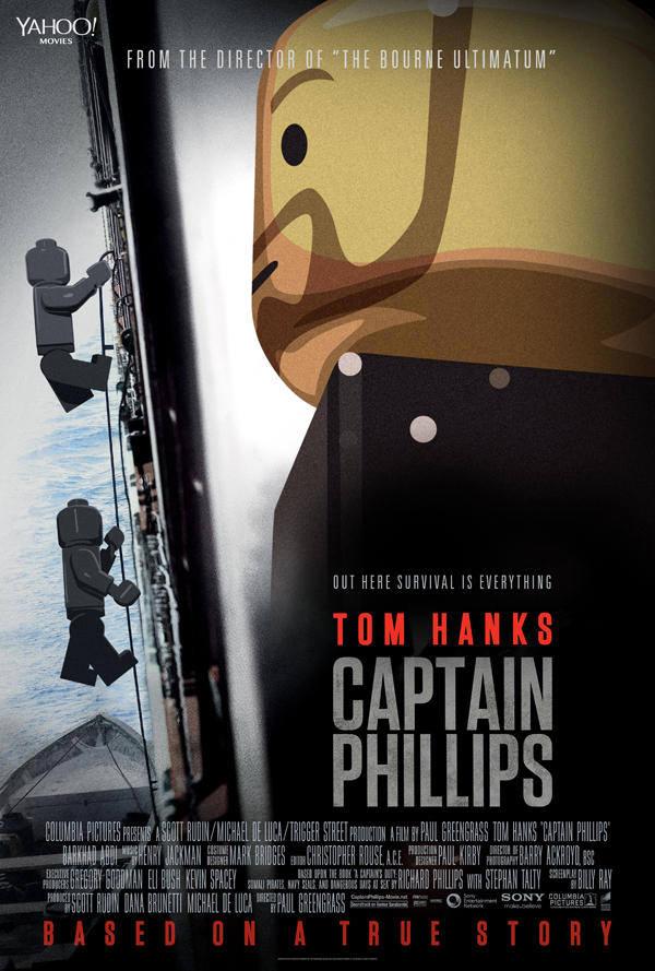 Capitão Phillips LEGO