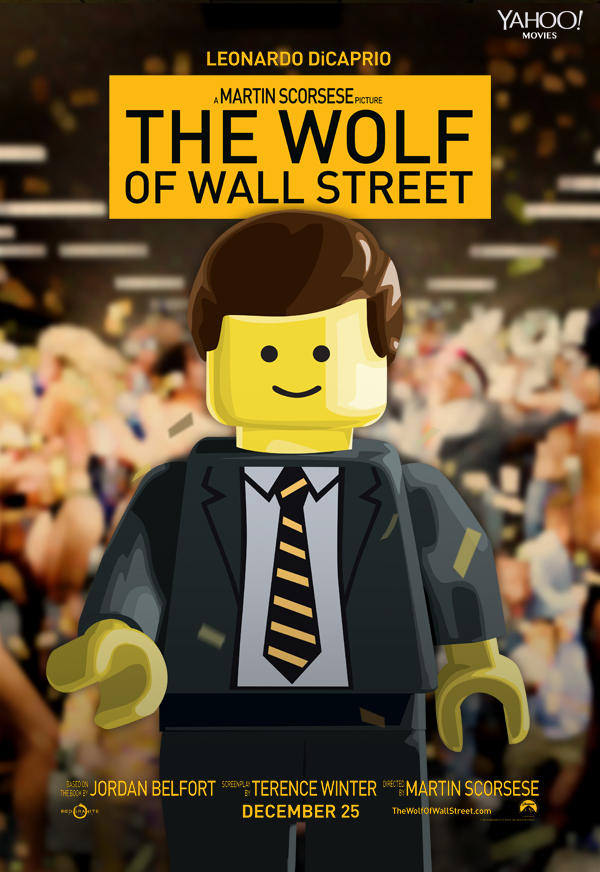 O lobo de Wall Street LEGO