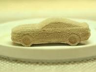 mustang impressão biscoito 3d