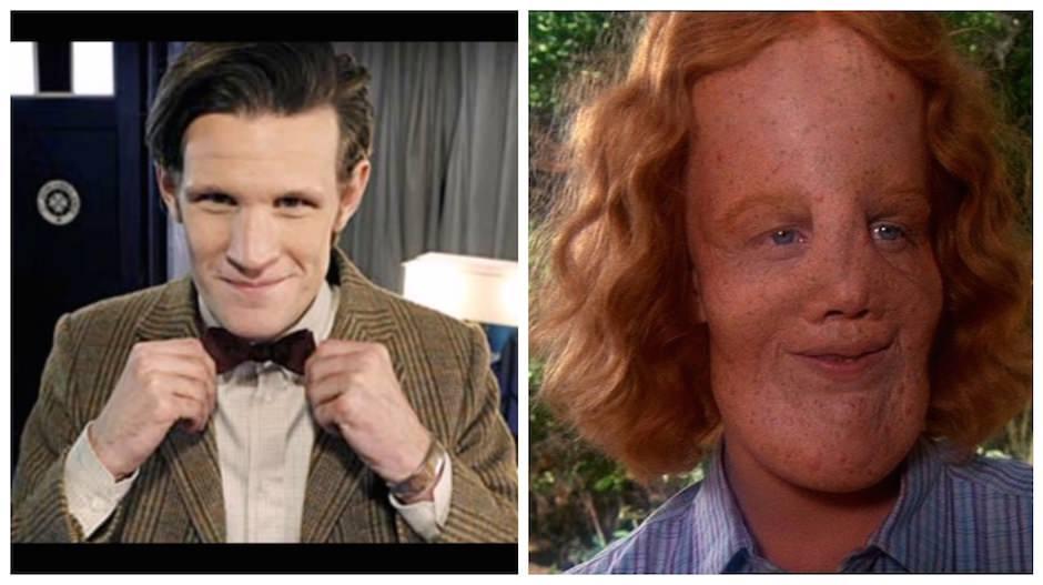 Lembrei com que o Matt Smith, o 11 Doctor, se parece Mask