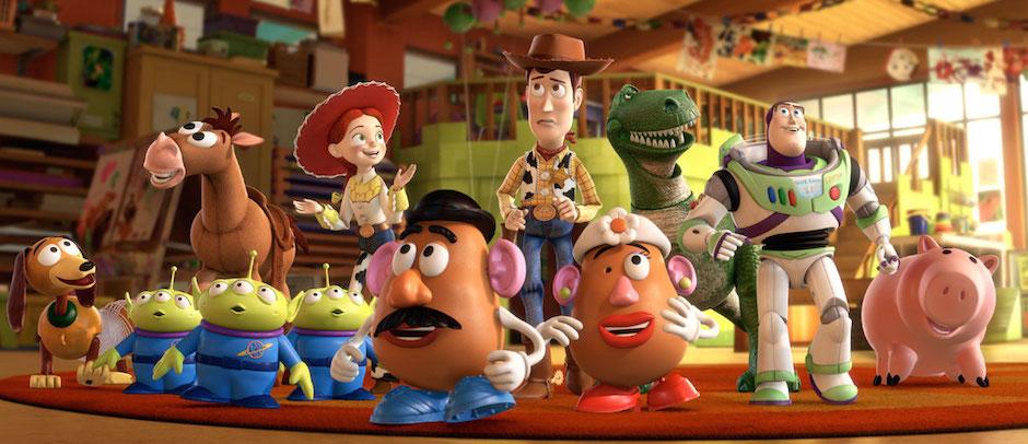 Toy Story - todos os bonecos