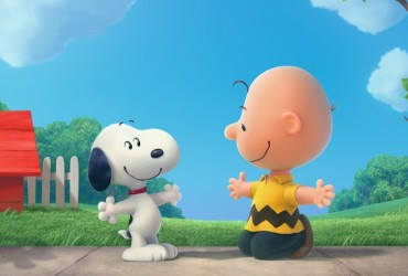peanuts 2015 - Snoopy no cinema