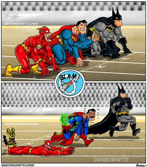 batman é imbatível