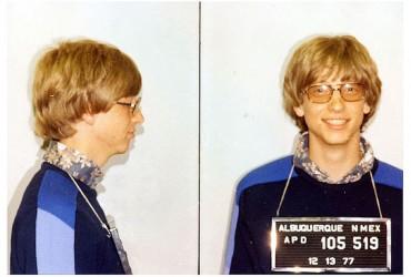 Bill Gates preso por dirigir sem carteira