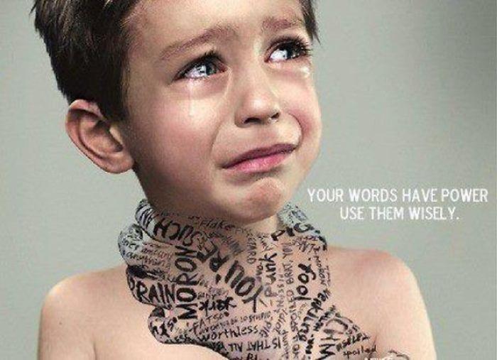 Suas palavras têm poder, use-as com sabedoria