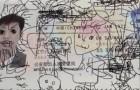 passaporte chines desenho