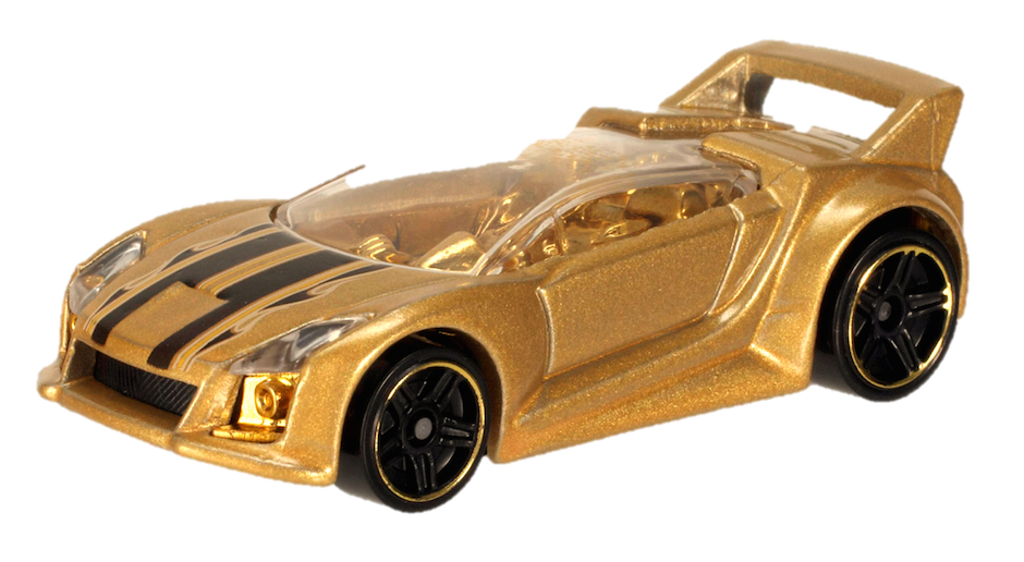 Golden car 2