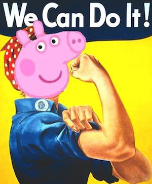 Peppa Pig We Can Do It