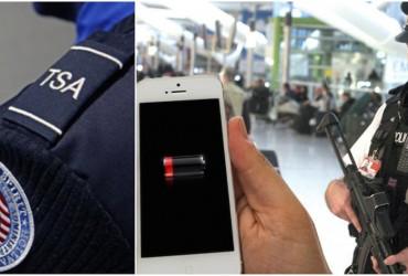 Por medida de segurança você irá ligar seu smartphone em vôos nos EUA