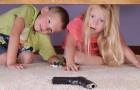 armas com crianças