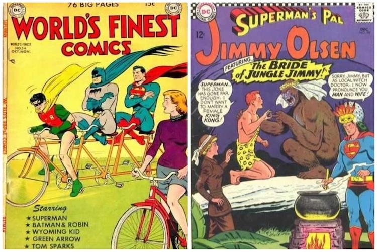Comics Code Authority - Capas ridículas
