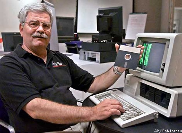 David Bradley criador do ctrl alt del