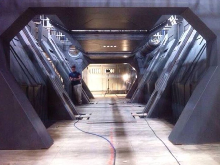 Fotos do interior da Millennium Falcon - Star Wars Episódio VII