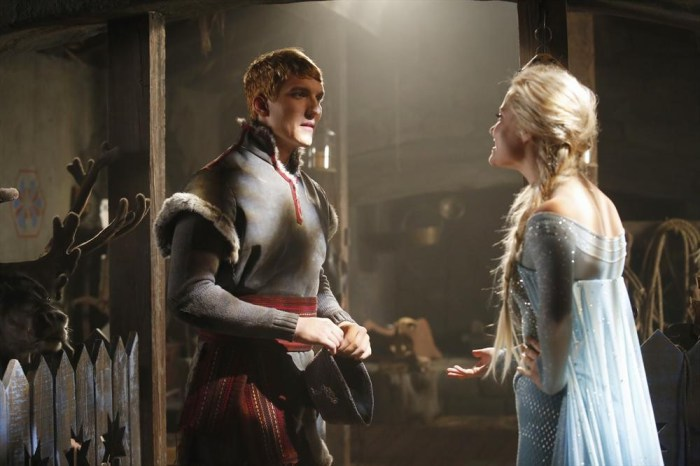 Once Upon A Time Frozen Kristoff Elsa