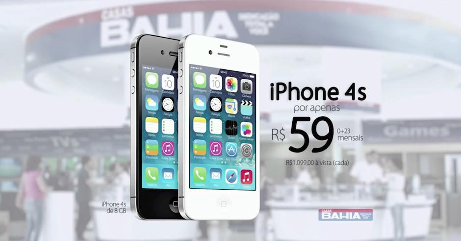 IPHONE CASAS BAHIA