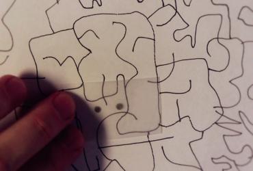 Não sabe desenhar Peça ajuda a pareidolia
