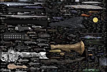 O tamanho de todas as naves espaciais em apenas uma imagem