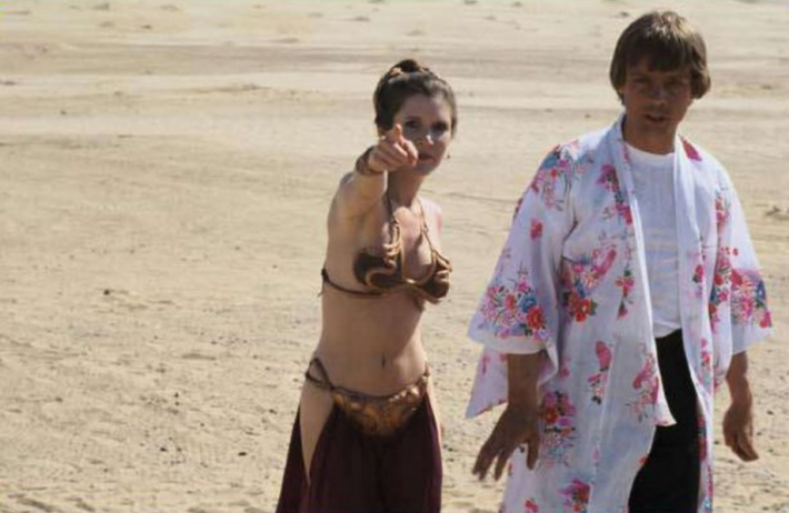37 fotos raras do Retorno de Jedi Star Wars 01