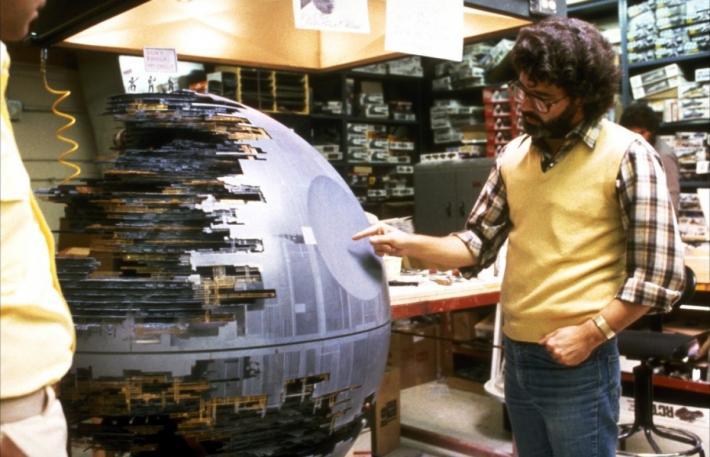 37 fotos raras do Retorno de Jedi Star Wars 08