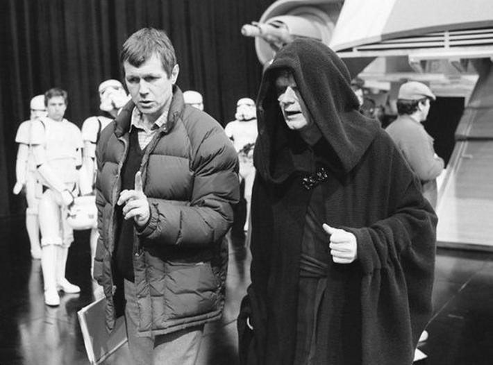 37 fotos raras do Retorno de Jedi Star Wars 16