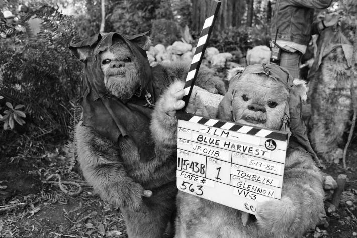 37 fotos raras do Retorno de Jedi Star Wars 23