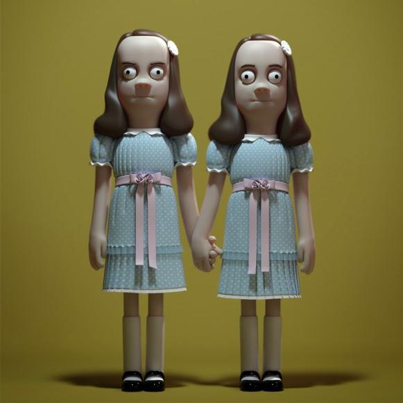 Bonecos de terror em vinil 02
