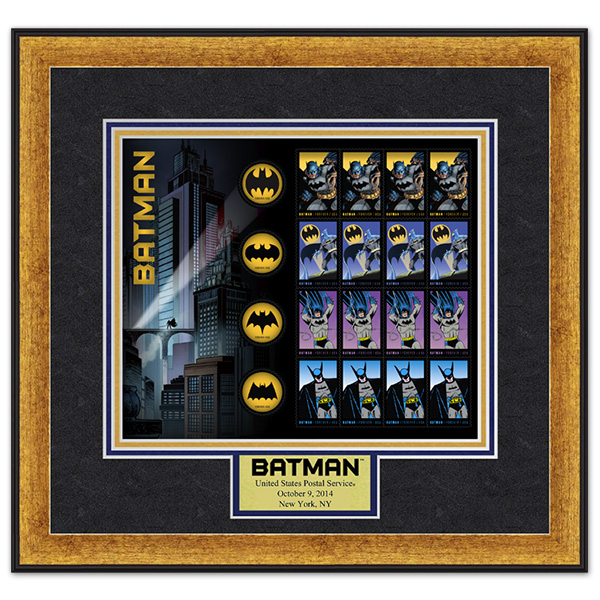 Correio dos EUA lança selos do Batman 03