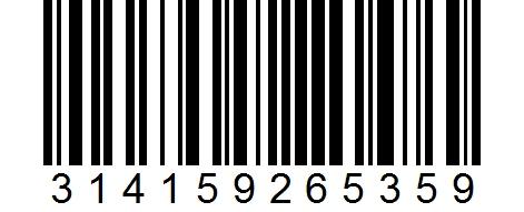 Código de Barras Nº PI